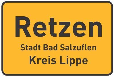 Retzen - Stadt Bad Salzuflen - Kreis Lippe